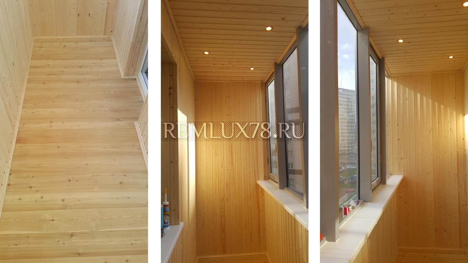 Ремонт балкона, лоджии